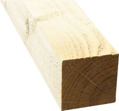 100 X 100 X 2400 GREEN TREATED TIMBER WOODEN POSTS