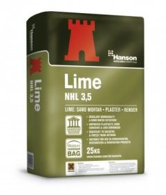 NATURAL HYDRAULIC LIME NHL 3.5 25KG WHITE