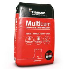 HANSON MULTICEM CEMENT 25KG PLASTIC