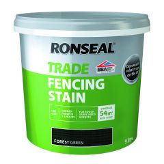 RONSEAL TRADE FENCING STAIN FOREST GREEN 9LTR