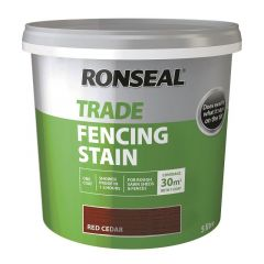 RONSEAL TRADE FENCING STAIN RED CEDAR 5LTR