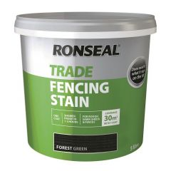 RONSEAL TRADE FENCING STAIN FOREST GREEN 5LTR